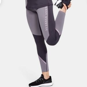 Under armour purple cold gear leggings
